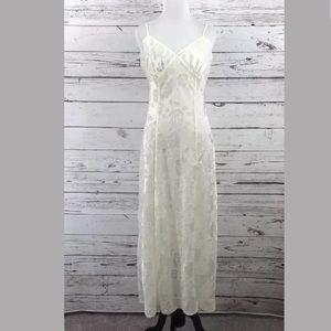 VICTORIA'S SECRET Vintage Satin Nightgown Med